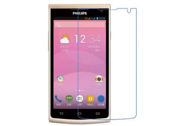 Фирменная оригинальная защитная пленка для телефона Philips S388 глянцевая
