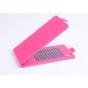 Фирменный оригинальный вертикальный откидной чехол-флип для Philips Xenium I908 розовый кожаный