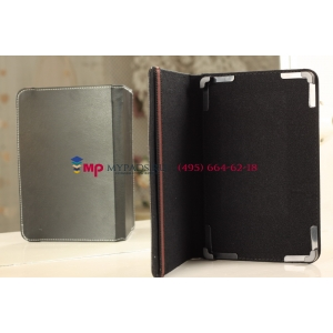 Чехол-обложка для PiPO M3 черный кожаный