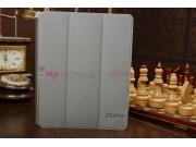 Фирменный оригинальный чехол-книжка для PiPO M6 Pro 32Gb 3G с вырезом под камеру серый..