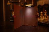 Чехол обложка с подстветкой/лампой для PocketBook 515 кожаный. Цвет на выбор