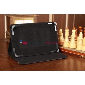 Чехол-обложка для Prestigio MultiPad 2 PMP7280C черный кожаный