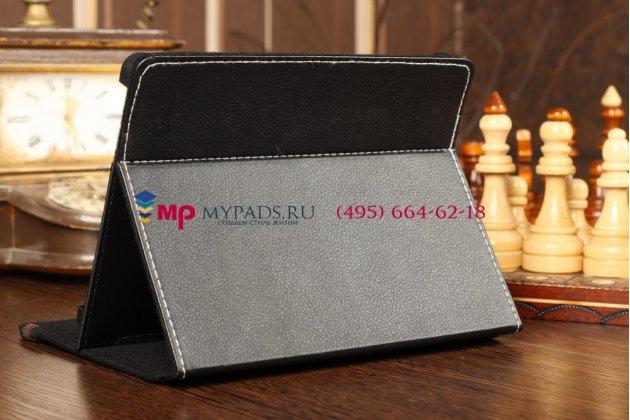 Чехол-обложка для Prestigio MultiPad PMP5588C черный кожаный