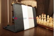 """Чехол-обложка для Prestigio MultiPad PMP5597D черный кожаный """"Deluxe"""""""