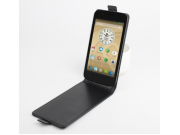 Фирменный оригинальный вертикальный откидной чехол-флип для Prestigio MultiPhone 5044 Duo 5.0