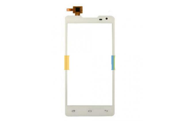 """Фирменный тачскрин на телефон Prestigio MultiPhone 5044 Duo 5.0""""  белый + инструменты для вскрытия + гарантия"""