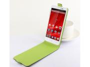 Фирменный оригинальный вертикальный откидной чехол-флип для Prestigio MultiPhone 5300 DUO 5.3