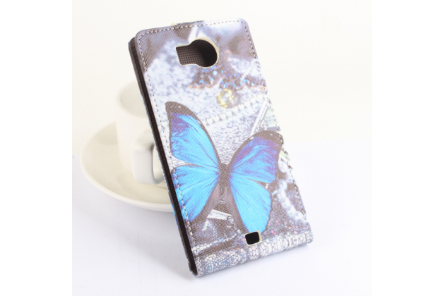 """Фирменный уникальный необычный чехол-флип для Prestigio MultiPhone 5300 DUO 5.3"""" """"тематика Бабочки"""""""