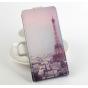 Фирменный вертикальный откидной чехол-флип для Prestigio MultiPhone 5300 DUO 5.3