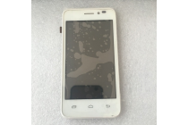"""Фирменный LCD-ЖК-сенсорный дисплей-экран-стекло с тачскрином на телефон Prestigio MultiPhone PAP5400 DUO""""  белый + гарантия"""