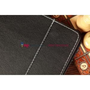 Чехол-обложка для Ritmix RMD-1058 черный кожаный