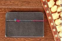 Чехол-обложка для Ritmix RMD-825 черный кожаный