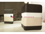 Чехол-обложка для Ritmix RMD-825 черный с серой полосой кожаный..