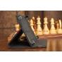 Чехол-обложка для Rolsen RTB 7.4D GUN 3G черный кожаный