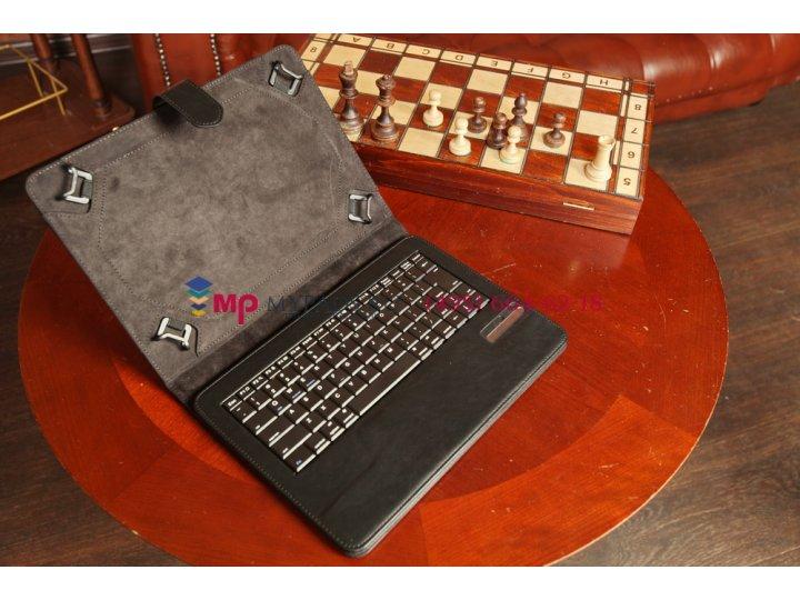 Чехол со съёмной Bluetooth-клавиатурой для Sony Xperia Tablet Z черный кожаный 10,1 + гарантия..