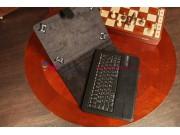 Чехол со съёмной Bluetooth-клавиатурой для планшетов с диагональю 10.1 дюймов черный кожаный + гарантия..