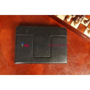 Чехол со съёмной Bluetooth-клавиатурой для планшетов с диагональю 9,0/ 9.7 дюймов черный кожаный + гарантия