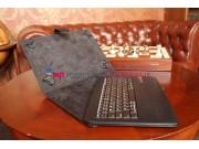 Чехол со съёмной Bluetooth-клавиатурой для планшетов с диагональю 9,0/ 9.7 дюймов черный кожаный + гарантия..