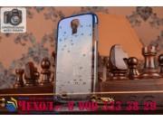 Фирменная из тонкого и лёгкого пластика задняя панель-чехол-накладка для Samsung Galaxy S4 GT-i9500/i9505 проз..