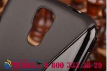 Фирменная ультра-тонкая полимерная из мягкого качественного силикона задняя панель-чехол-накладка для Samsung Galaxy S4 GT-i9500/i9505 черная