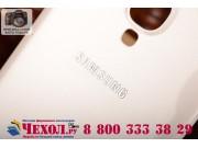 Родная оригинальная задняя крышка-панель которая шла в комплекте для Samsung Galaxy S4 GT-i9500/i9505 белая..
