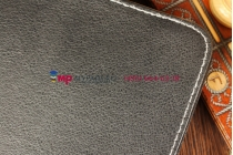 Чехол-обложка для SKY Labs 10 IPS черный кожаный