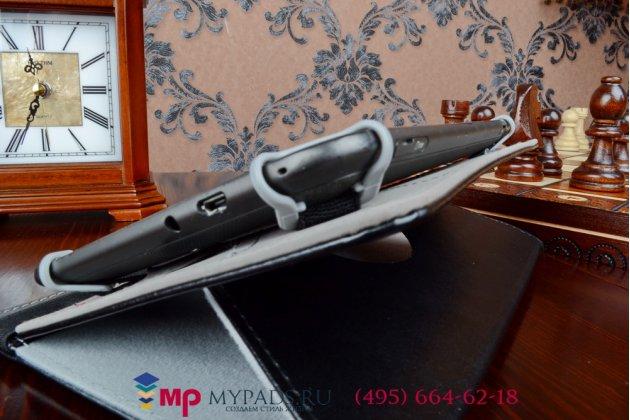 Чехол с вырезом под камеру для планшета SUPRA M84EG роторный оборотный поворотный. цвет в ассортименте