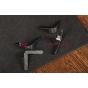 Чехол-обложка для SUPRA ST 801 черный кожаный