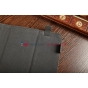 """Чехол-обложка для SUPRA M127G коричневый кожаный """"Deluxe"""""""