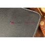 Чехол-обложка для SUPRA M722G черный кожаный