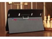 Фирменный оригинальный чехол для Samsung ATIV Smart PC Pro XE700T1C черный кожаный..