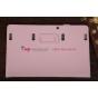 Фирменный чехол-обложка для Samsung Ativ Smart PC Pro XE700T1C розовый кожаный..