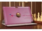 Чехол для Samsung Ativ Smart PC XE500T1C поворотный фиолетовый кожаный..
