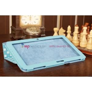 Чехол-обложка для Samsung Ativ Smart PC XE500T1C бело-голубой далматинец