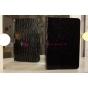 Фирменный чехол-обложка для Samsung Ativ Smart PC XE500T1C кожа крокодила черный
