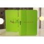 Фирменный чехол-футляр для Samsung Ativ Smart PC XE500T1C зеленый кожаный..