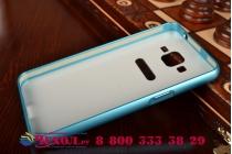 Фирменная металлическая задняя панель-крышка-накладка из тончайшего облегченного авиационного алюминия для Samsung Galaxy Grand Prime SM-G530H синяя