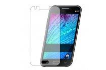 Фирменная оригинальная защитная пленка для телефона Samsung Galaxy J1 SM-J100H/F/DS глянцевая