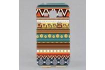 Фирменная роскошная задняя панель-чехол-накладка с безумно красивым расписным эклектичным узором на Samsung Galaxy J1 SM-J100H/F/DS
