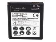 Усиленная батарея-аккумулятор большой ёмкости 2150mAh  для телефона Samsung Galaxy J1 SM-J100H/F/DuoS + гарант..