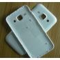 Родная оригинальная задняя крышка-панель которая шла в комплекте для Samsung Galaxy J1 SM-J100H/F/DS белая..