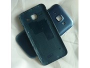 Родная оригинальная задняя крышка-панель которая шла в комплекте для Samsung Galaxy J1 SM-J100H/F/DS черная..