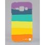 Фирменная необычная из легчайшего и тончайшего пластика задняя панель-чехол-накладка для Samsung Galaxy J1 SM-..