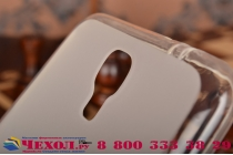 Фирменная ультра-тонкая полимерная из мягкого качественного силикона задняя панель-чехол-накладка для Samsung Galaxy Mega 2 SM-G750F белая