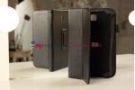 Чехол-обложка для Samsung Galaxy Note 8.0 N5100 черный кожаный