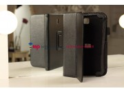 Чехол-обложка для Samsung Galaxy Note 8.0 N5100 черный кожаный..
