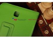 Чехол-обложка для Samsung Galaxy Note 8.0 N5100/N5110 зеленый кожаный