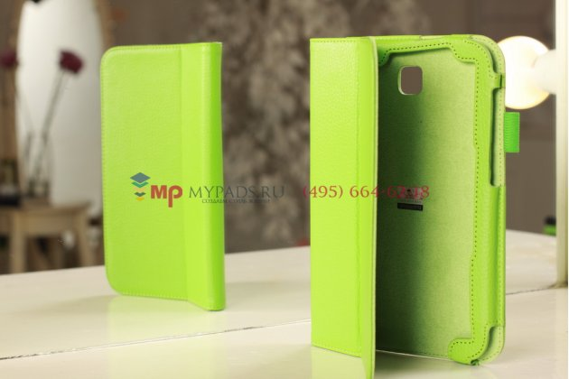 "Чехол-обложка для Samsung Galaxy Note 8.0 N5100/N5110 зеленый кожаный ""Prestige"""
