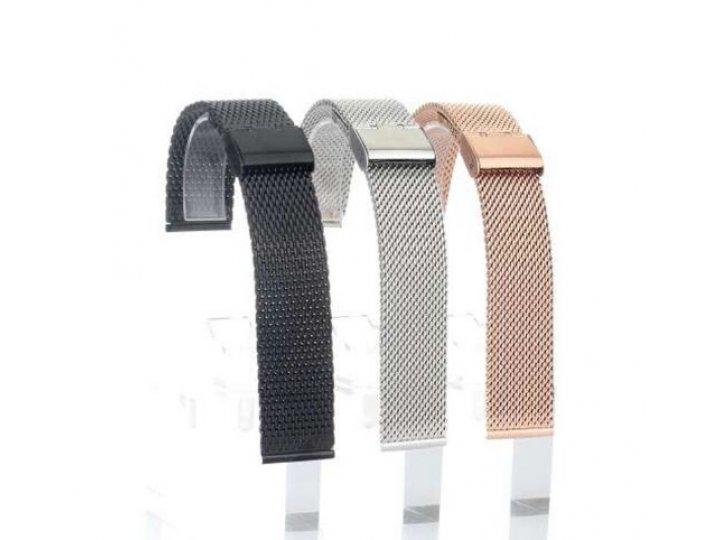 Фирменный сменный сетчатый плетёный ремешок для умных смарт-часов Samsung Gear 2/Gear 2 Neo (SM-R380/SM-R381)/..