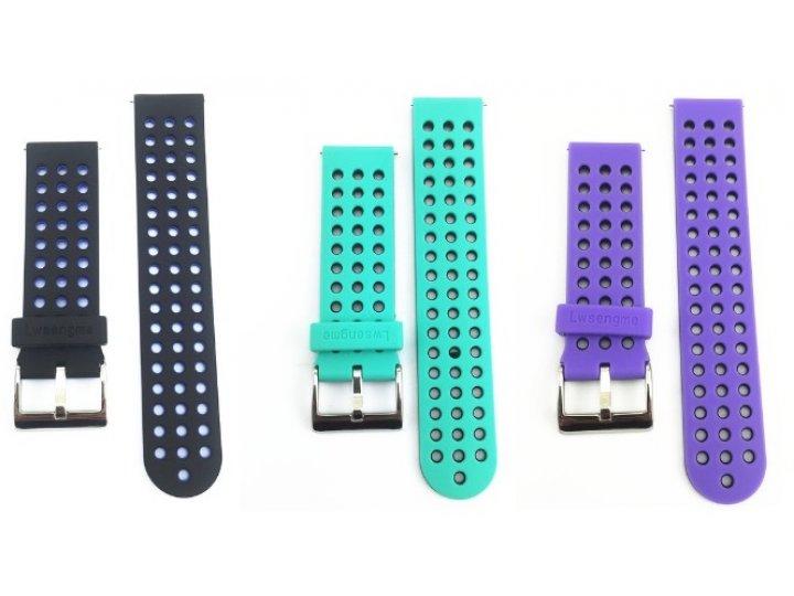 Фирменный необычный сменный силиконовый ремешок  для фитнес-браслета Samsung Gear 2/Gear 2 Neo (SM-R380/SM-R38..